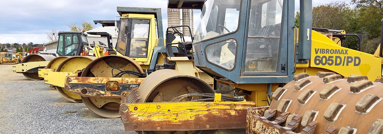 used compaction rollers